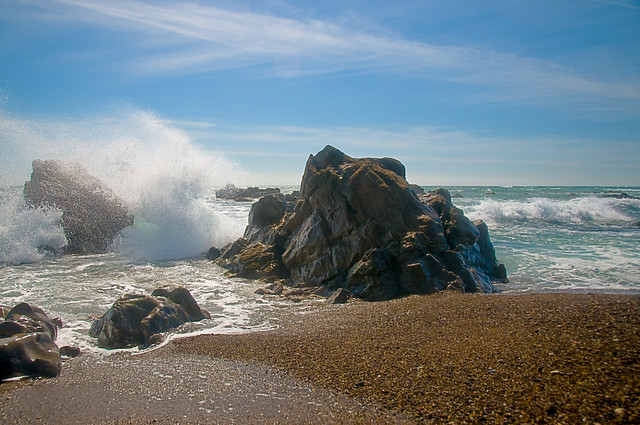Moonstone Beach Ca Usaphoto By Viktor Eliz