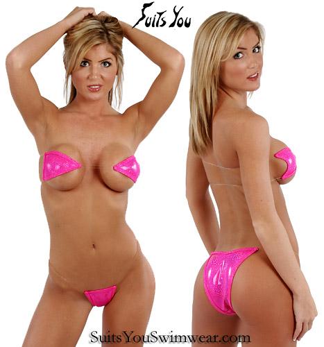 Agree, bikini clear string something