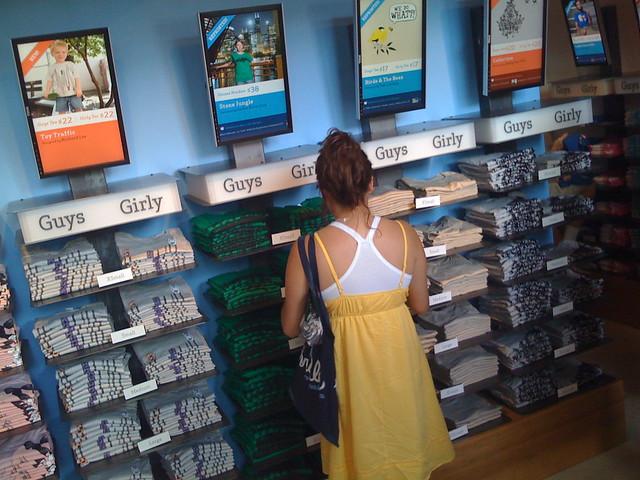 Retail Display Shelving