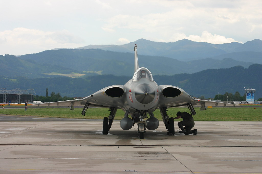 Austria airforce Saab 35 Draken