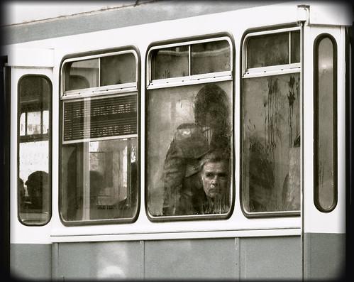 man bus monochrome bravo ukraine ukrainians fivestarsgallery artlibre masterpiecesoflightdark mistedwindow