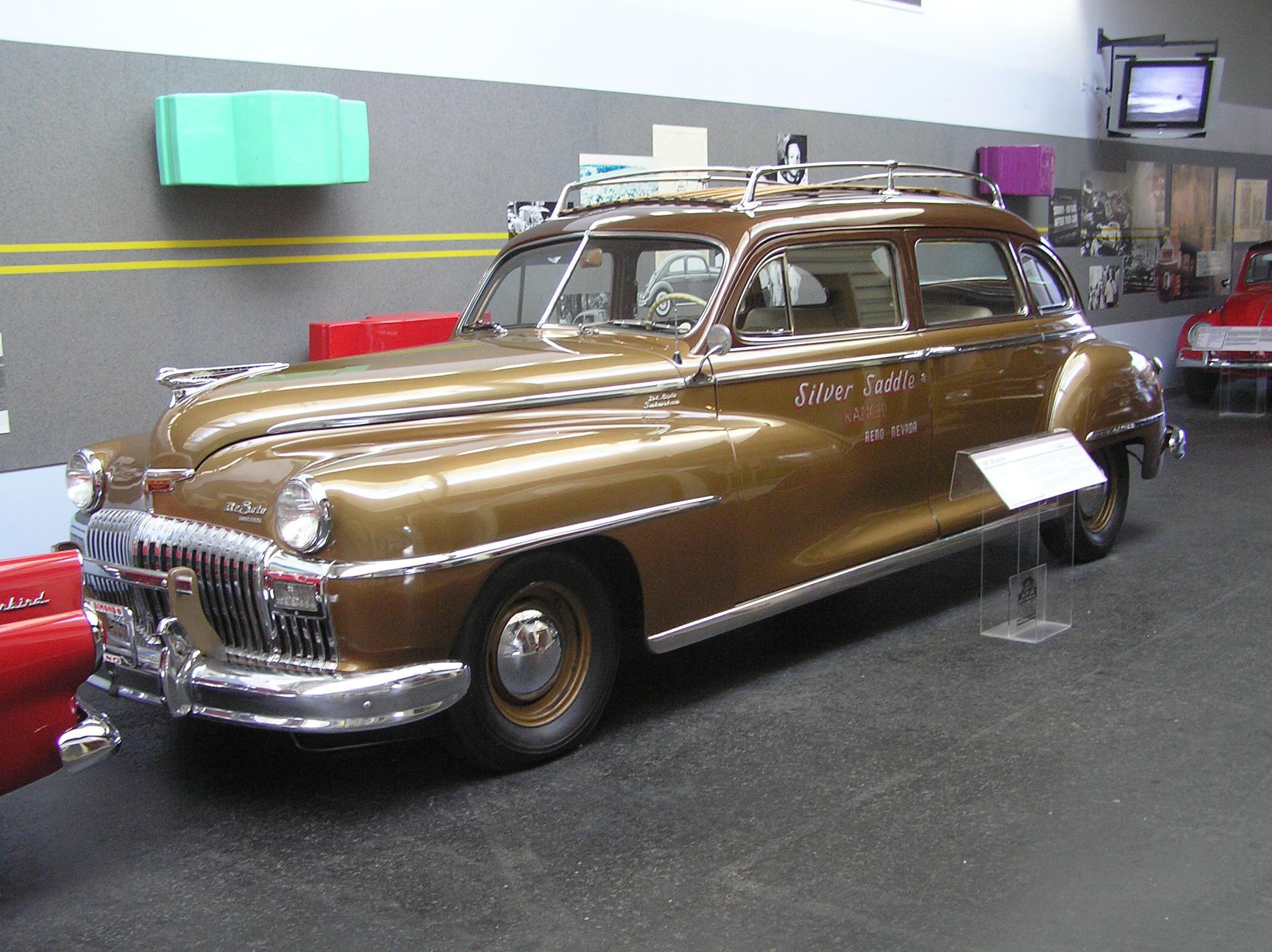 National auto museum reno 1947 desoto suburban flickr - Suburban chrysler garden city mi ...