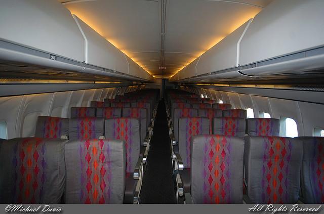 Southern Illinois University Boeing 737-222 (N9009U)  **Cabin**