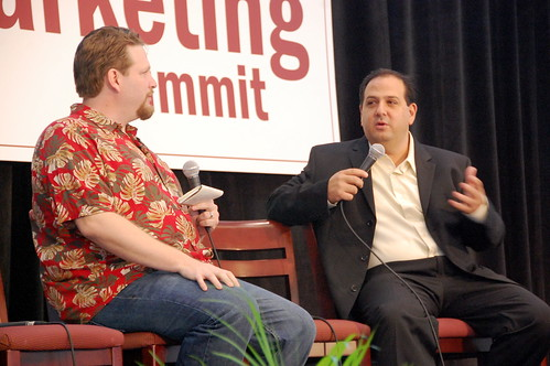 Chris Brogan and Nick Saber