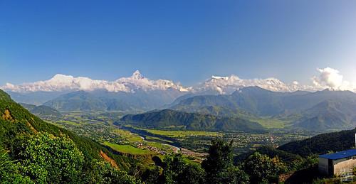 Nepal - Panning Pokhara