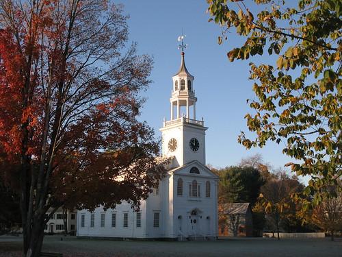 autumn church sunrise dawn vermont frost baptist vt poultney eastpoultney