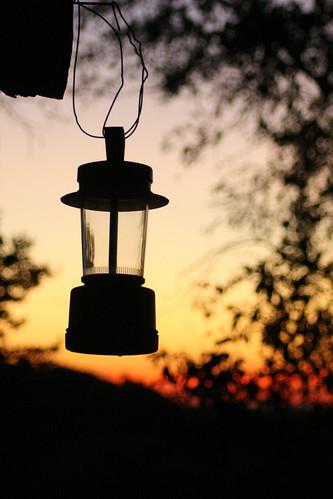 Lantern Silhouette Eastern View