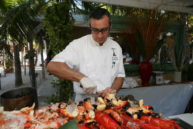 NIKKI BEACH Stone Crab and Lobster Happy Hour 10/18 | Flickr - Photo ...