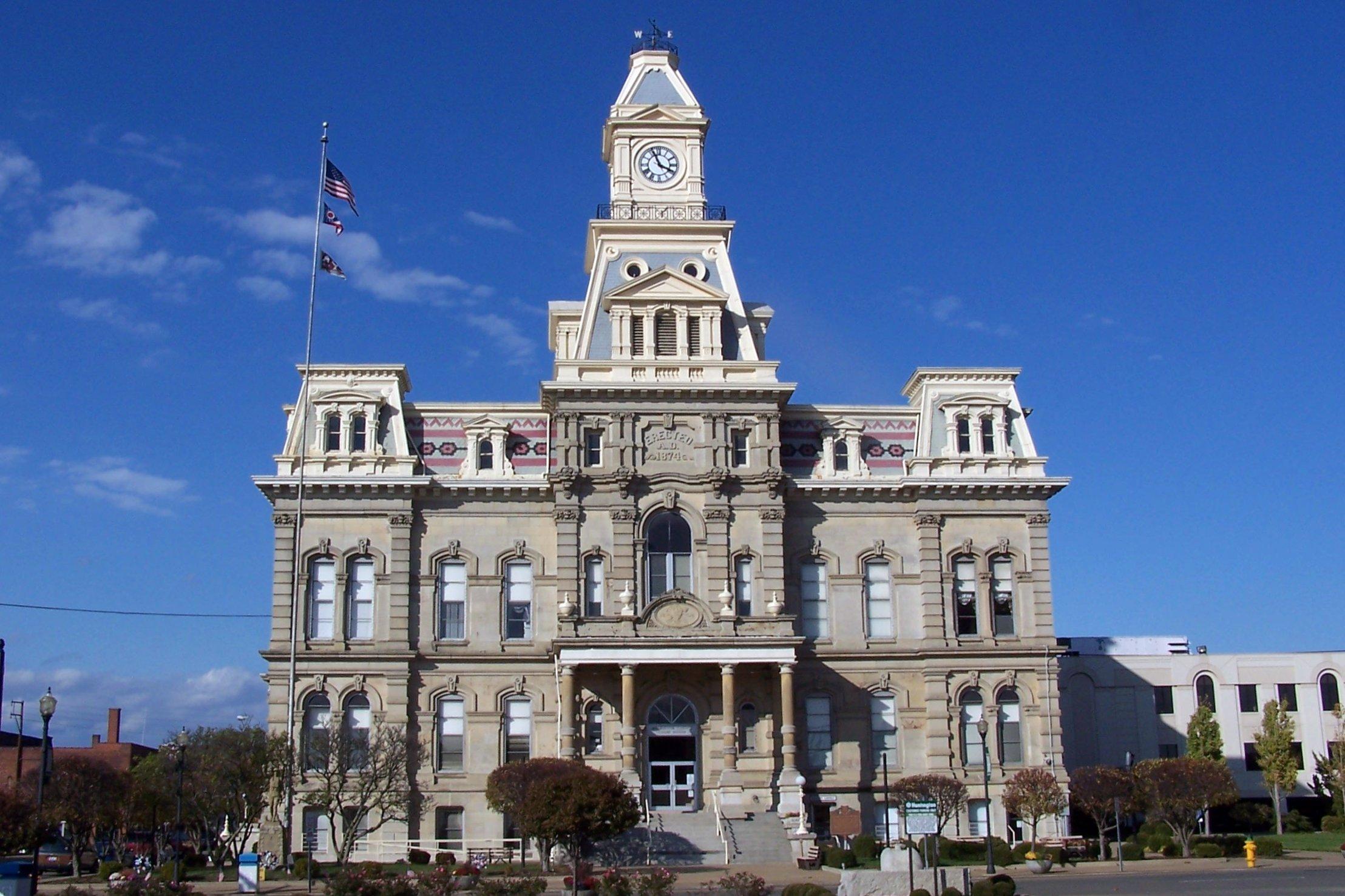 Ohio muskingum county new concord - Ohio Zanesville Muskingumcounty Usccohmuskingum Muskingum County Courthouse
