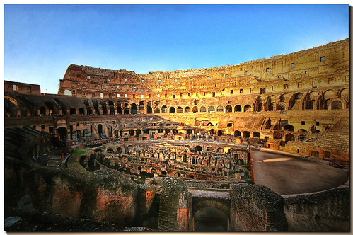 Roma - colosseo (interno)