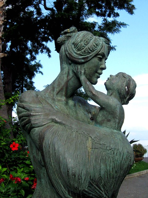 Mother and Child Reunion, Sorrento, Italy