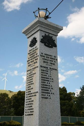Toora Australia  city photos : War Memorial, Toora, Gippsland, Victoria, Australia. | Flickr Photo ...
