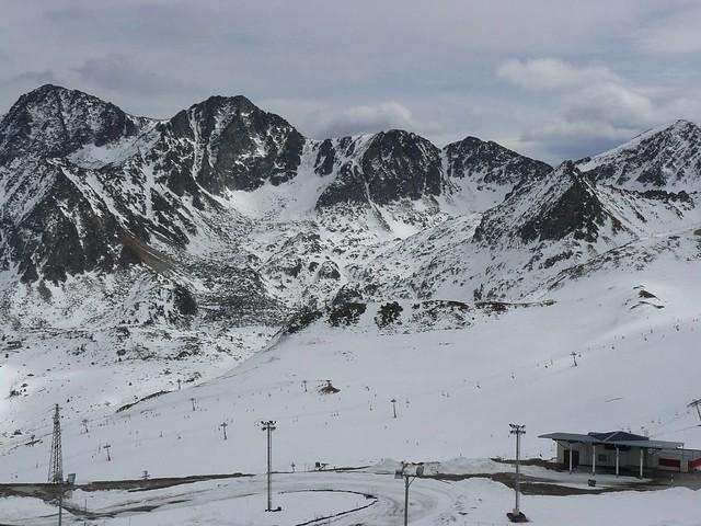 Pas de la Casa en invierno (Andorra)