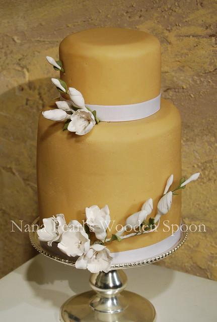 Art Deco Grooms Cake : Art Deco Freesia Wedding Cake Flickr - Photo Sharing!