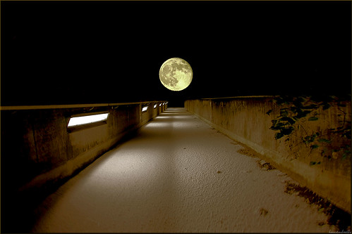 walking to the moon...
