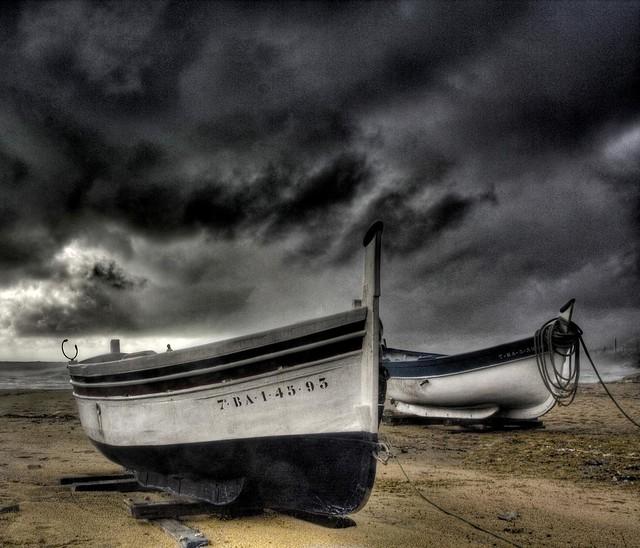 Tormenta sobre Vilassar (storm over Vilassar)