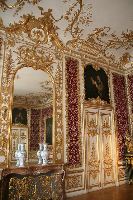 baroque room in Munich ResidenzBaroque Room
