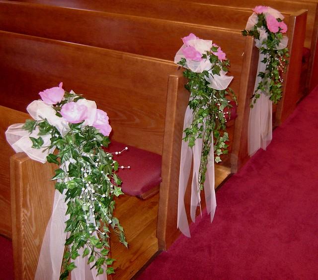 Wedding Chapel Decoration Ideas: Nataliya's Blog: Church Decoration Shelley Hall And Robbie