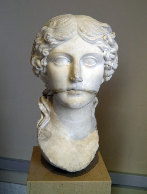Bust of Agrippina the Elder, Sculpture of Roman Period, Istanbul Archaeology Museum