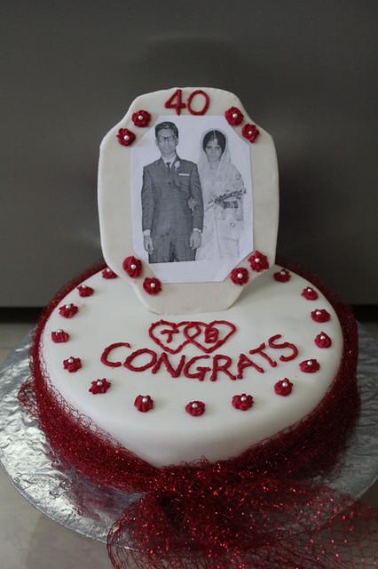40th wedding anniversary cake explore chocotemptation 39 s ph