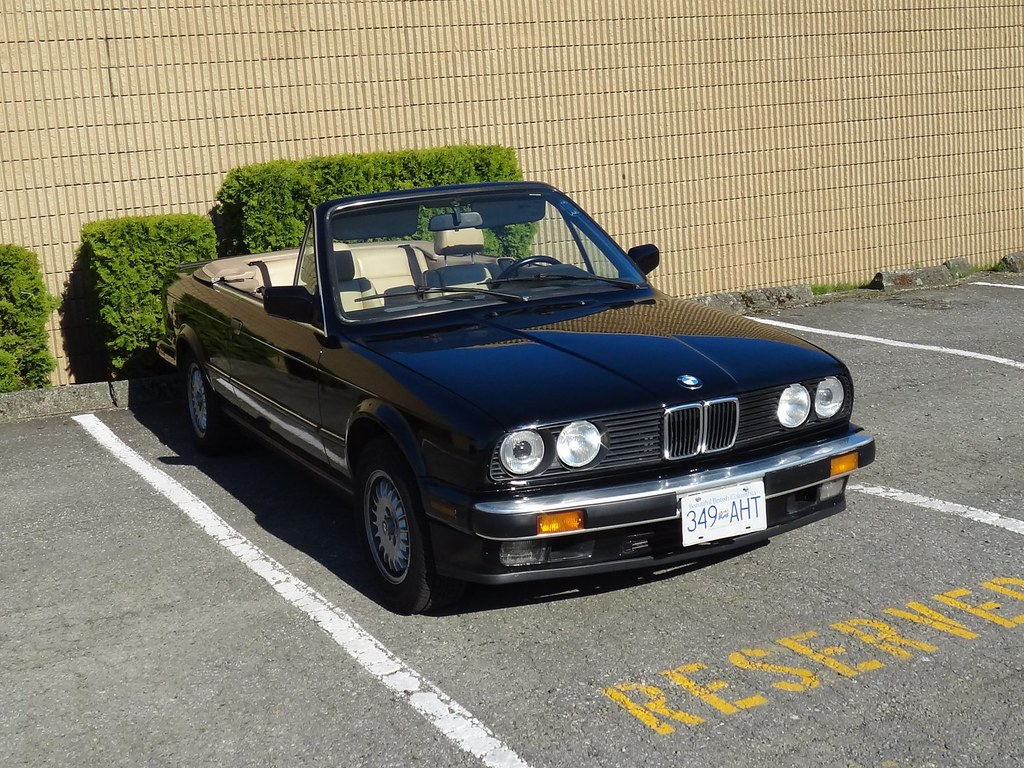 1988 bmw 325i convertible flickr photo sharing. Black Bedroom Furniture Sets. Home Design Ideas