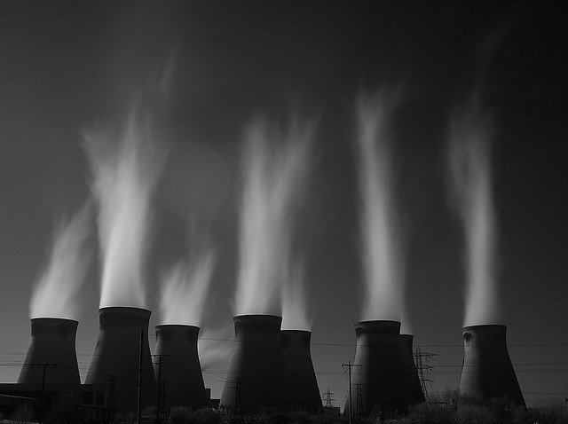 Another Long Exposure !!!  Ferrybridge coal fired power station, Yorkshire, UK