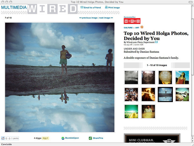 Top 10  Wired Contest