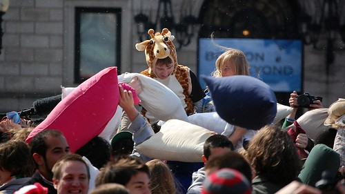 Boston Pillow Fight