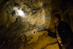 Maastricht - Coal Drawings in the Sint Pietersberg Caves / Mines