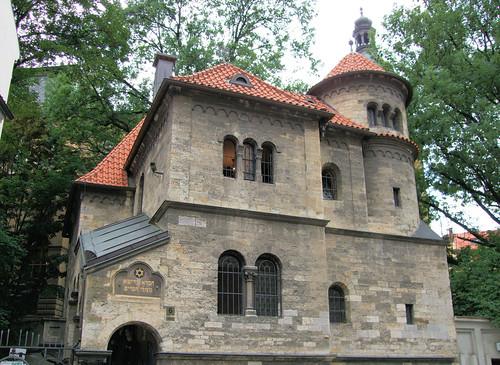 The Jewish Ceremonial Hall, Prague.