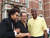 Drs. Michael Eric Dyson and Cornell West with Ken West, vice president of communications and public relations
