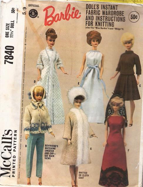 Vintage Barbie Sewingpatterns A Gallery On Flickr