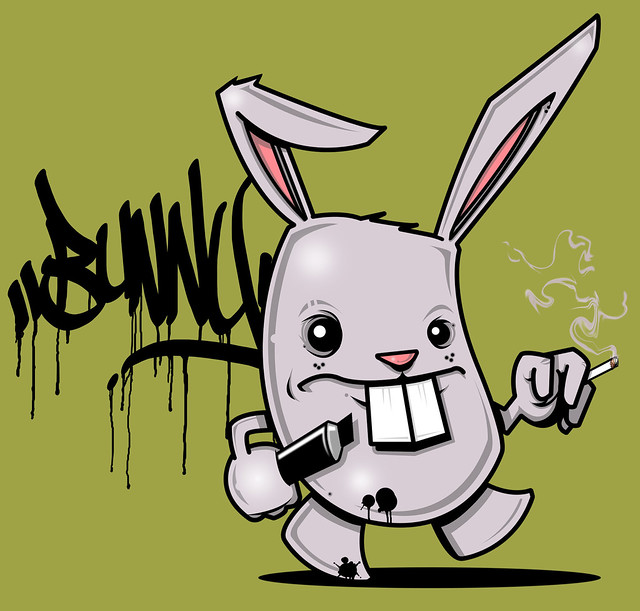 The Bad Bunny -by SEAM...