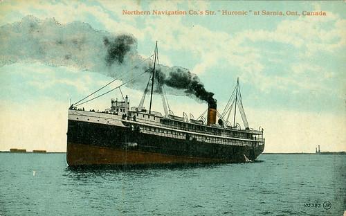 SS Huronic