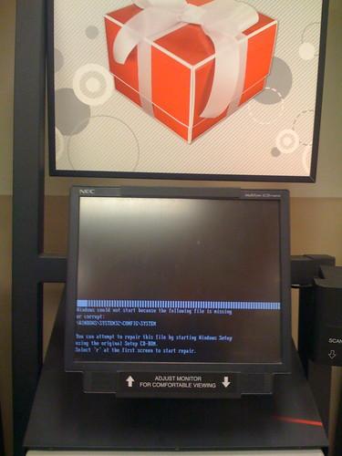 Rebooting Kiosk