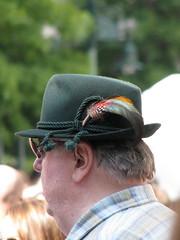 glasses, clothing, head, ear, fedora, hat, close-up, sunglasses, headgear,