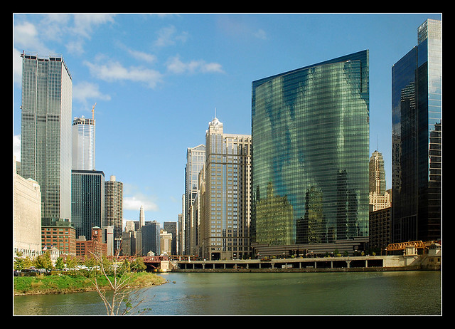 Chicago from the Empire Builder