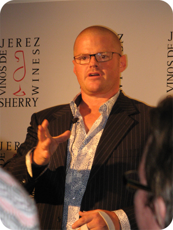 Sherry and food pairing with Heston Blumenthal