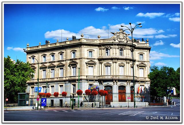 Madrid palacio de linares casa de am rica flickr for Casa america madrid