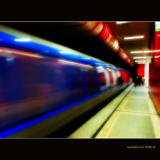 Subways in Munich (1) blue