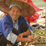 Vegetables and a Smile - Guizhou Province, China