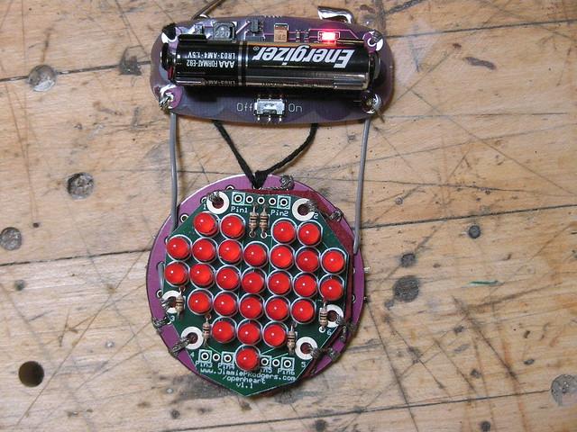 Open Heart + LilyPad Arduino