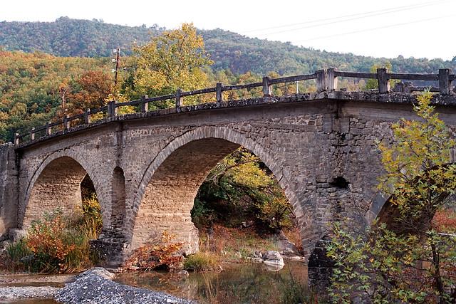 Stavropotamos bridge