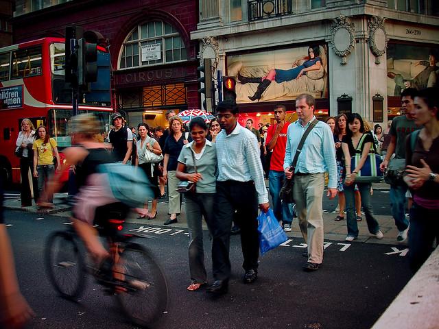 Oxford Street London - Flickr CC nickhutche
