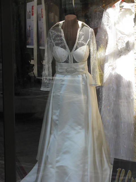 ugliest wedding dress ever | Flickr - Photo Sharing!