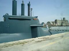 vehicle, watercraft, ballistic missile submarine,