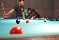 nine-ball(0.0), games(0.0), carom billiards(0.0), indoor games and sports(1.0), individual sports(1.0), billiard room(1.0), play(1.0), snooker(1.0), sports(1.0), recreation(1.0), cue stick(1.0), pool(1.0), billiard table(1.0), recreation room(1.0), eight ball(1.0), english billiards(1.0), cue sports(1.0),