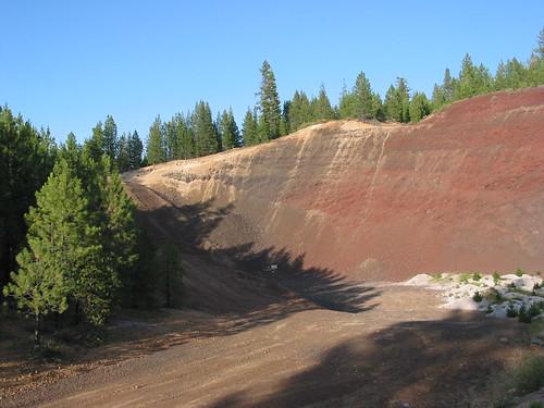 geology quarry cindercone cascaderange