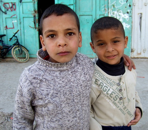 Palestinian Children, Hebron