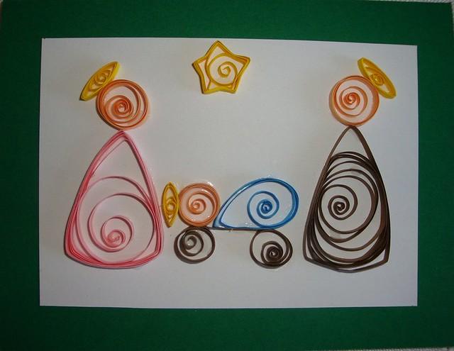 Nacimiento de filigrana flickr photo sharing - Tarjetas de navidad artesanales ...